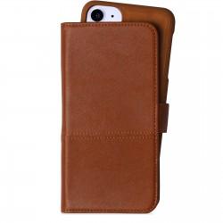 iPhone 11 selected wallet magnetisch vikhyddan bruin Holdit