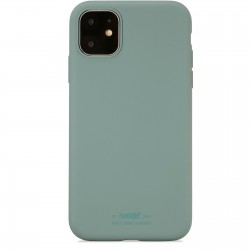 iPhone 11 hoesje silicone mos groen Holdit
