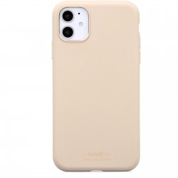 iPhone 11 hoesje silicone beige  Holdit