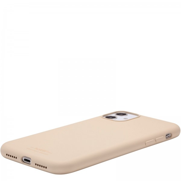 Holdit Smartphonehoesje iPhone 11 hoesje silicone beige