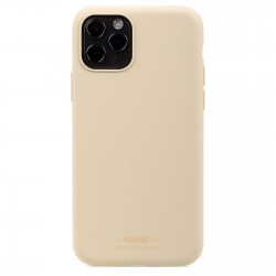 iPhone 11 Pro hoesje silicone beige  Holdit