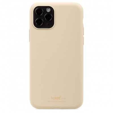 iPhone 11 Pro hoesje silicone beige