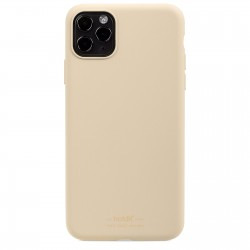 iPhone 11 Pro Max hoesje silicone beige  Holdit