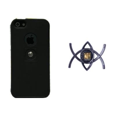 iPhone 5/5s bundle smart + xcase zwart  Tetrax
