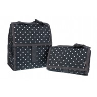 Lunch Bag Polka Dots