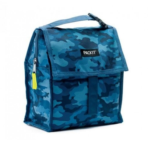 Lunch Bag Blue Camo  Packit