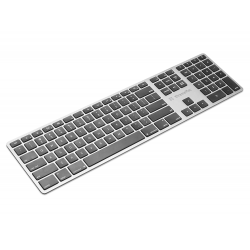 Multi device Bluetooth toetsenbord Azerty Zilver  Xtreme Mac
