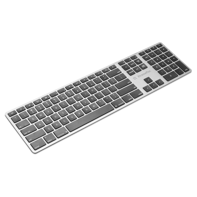 Multi device Bluetooth toetsenbord Azerty Zilver  Xtreme Mac