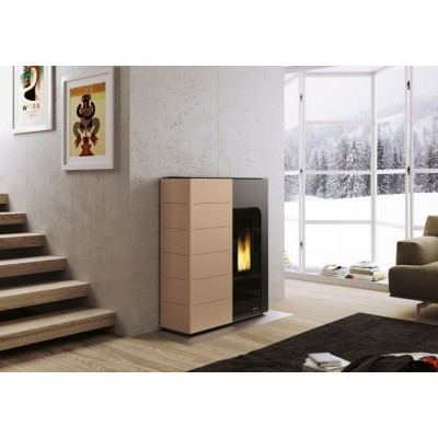 Ginger 9kW Cafe Latte  Palazzetti