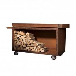Mise en Place Table Pro 135 Teak Wood