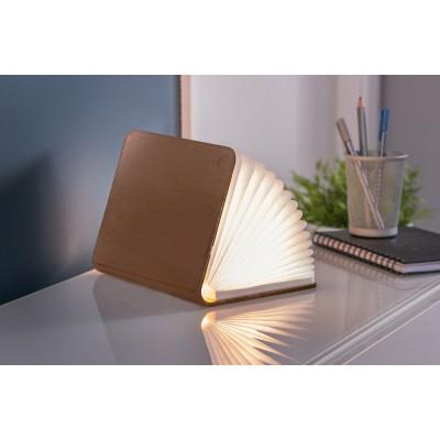 Mini Smart Book Light Leder Brown  Gingko