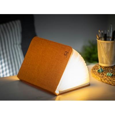 Mini Smart Book Light Linen Harmony Orange  Gingko