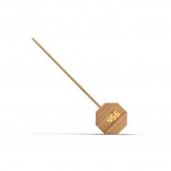 Octagon One Plus draagbare wekker bureaulamp Bamboo  Gingko