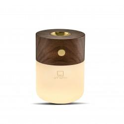 Smart Diffuser Lamp Natural walnut wood  Gingko