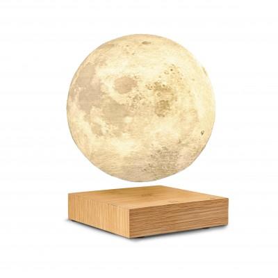 Smart Moon Light Natural walnut wood  Gingko
