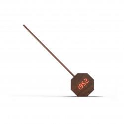 Octagon One Plus draagbare wekker bureaulamp Walnut  Gingko