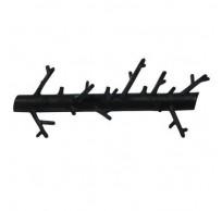 Kapstok Zwart 31 cm