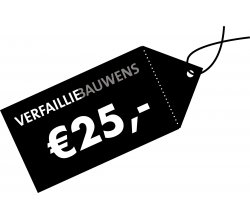 Cadeaubon van 25 € Cadeaubon