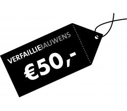 Cadeaubon van 50 € Cadeaubon