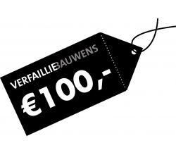 Cadeaubon van 100 € Cadeaubon