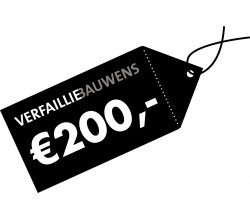Cadeaubon van 200 € Cadeaubon