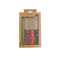 LOU LAGUIOLE FOREST STEAKMES SET4 4KLEUR