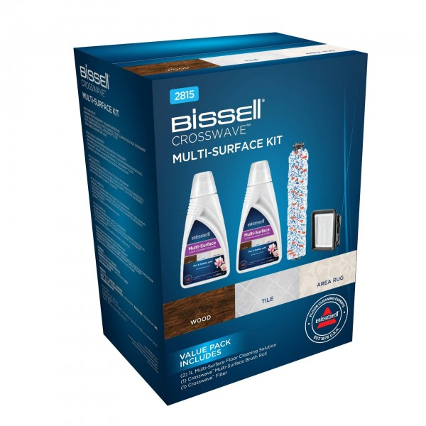 Crosswave - Cleaning Pack (2x1789 + borstel + filter) Bissell