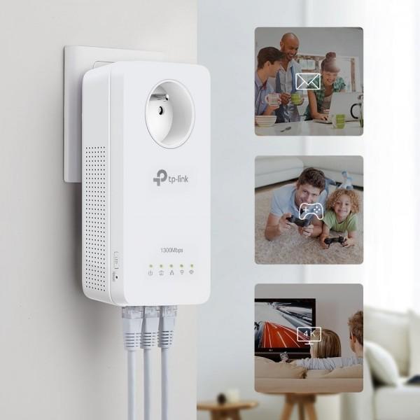 AV1300 Gigabit Powerline ac Wi-Fi Kit met Stopcontact