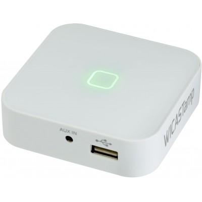 WiCASTamp Interface WIFI amplifiée 2x15W USB/SD/Aux/App  Audiophony