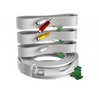 Techconnect 2 - video-/audiokabelkit - VGA / composietvideo / -audio - 15 m