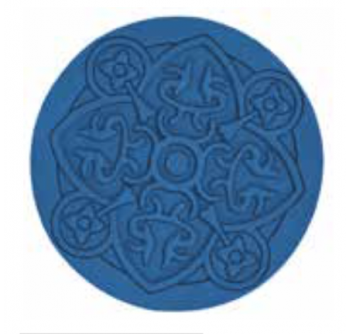 Coaster URBAN 01, Jeans, 11cm  Images d'Orient