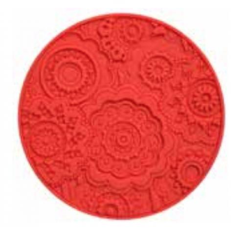 Coaster URBAN 03, Lava Red, 11cm  Images d'Orient