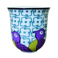 Coffee Cup BIRDS OF PARADISE, porcelain, 90ml