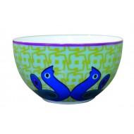 Bowl BIRDS OF PARADISE, porcelain, 12cm