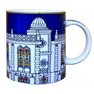 Mug SURSOCK VITRAIL, Bone China porcelain, 250ml
