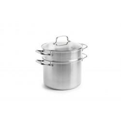 Dagelijkse Kost  Kookpot met pasta inzet 24 cm 6,0L