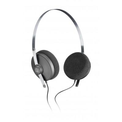Revolver on-ear HPH met microfoon zwart