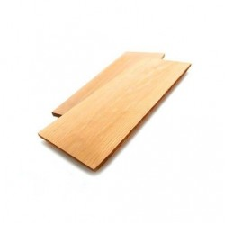 Set van 2 ceder houten grill planken