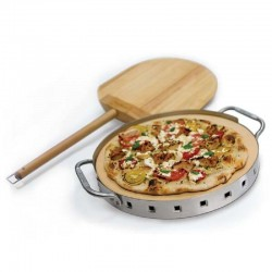 Professionele pizzasteen met schep  Broil King