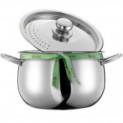 Kookpot met afgietdeksel Cook&Drain
