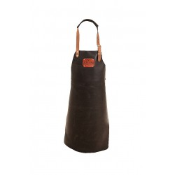LEATHER APRON BLACK  Not Just BBQ