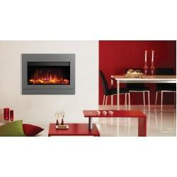 Riva2 670 Elektrisch met Designio2 Steel Front - Iridium  GAZCO