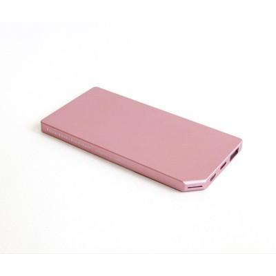 PowerBank Slim Aluminum 5000mAh Pink  Allocacoc