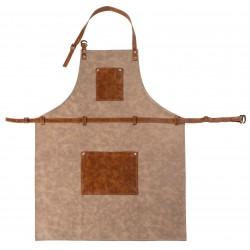 Tuscan schort, 70x90 cm, taupe
