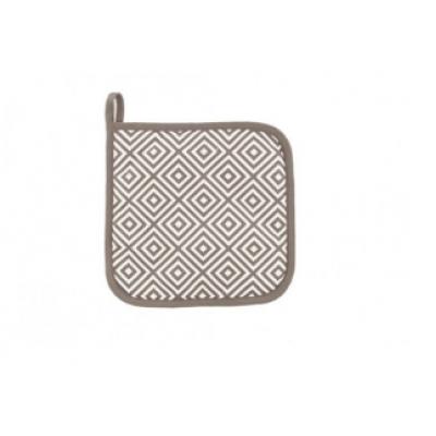Pannenlap geo tetris Taupe  Tiseco