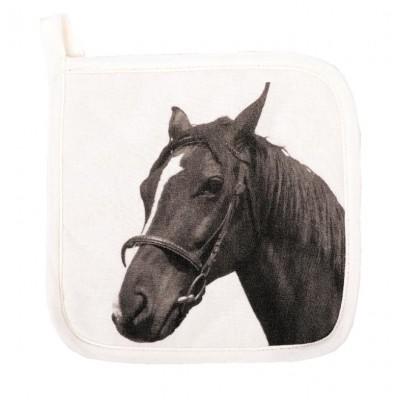 Pannenlap FARM 20x20cm Horse  Tiseco