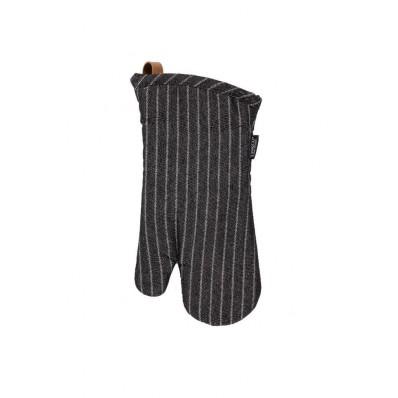 Ovenwant (1R + 1L) SHERLOCK Stripe, 17x33cm, zwart