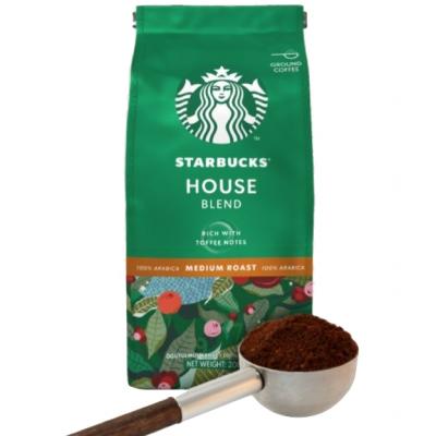 Starbucks Gemalen Koffie House Blend 200gr  Nestle