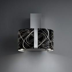 Glas Penelope Wand 67 cm  Falmec