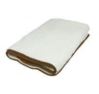 RI.403 1 pers. elektrisch onderdeken 100% wol wit